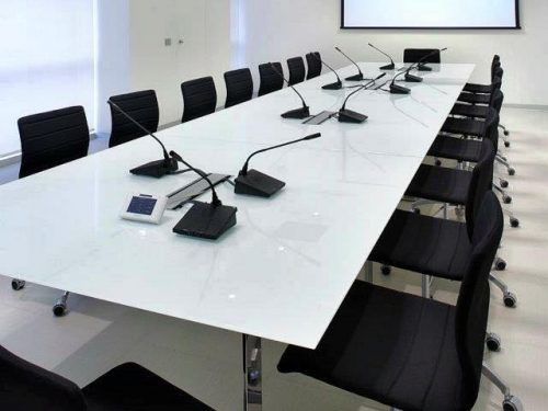 Aménagement de salle de réunion